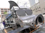 The eye-catching giant pig truck of Maximus/ Minimus is a regular at 2nd and Pike in downtown Seattle on weekdays.