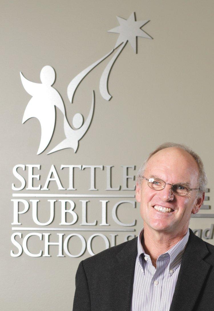 Michael DeBell, president of the Seattle School Board
