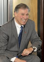 Democratic gubernatorial candidate Jay Inslee at the NW Next event Tuesday.