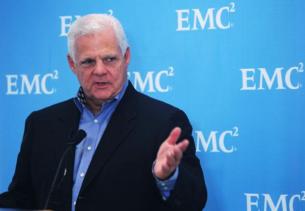 EMC CEO Joe Tucci has been rumored to be in the market to buy a networking company, with Juniper Networks, Brocade Communications and Arista Networks all mentioned as possibilities. But Wells Fargo analyst Maynard Umwrote on Thursday that he doesn't see any of those deals as a good fit nor likely to happen.