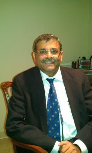 Ram Menen, divisional senior vice president for Emirates SkyCargo. Boeing Seattle Dubai