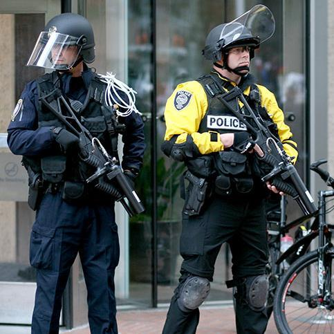 Federal law enforcement wants riot gear for use in Charlotte at the Democratic National Convention.