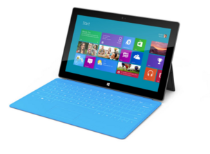 The new Microsoft tablet, Surface, could have streaming software