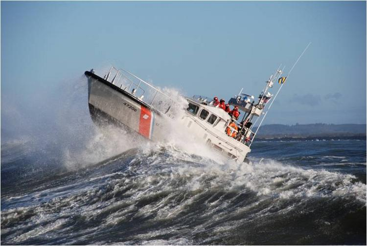 Operations of vessels like this 47-foot motor lifeboat could be curtailed if the Coast Guard's budget is cut through sequestration.