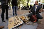 Slide show: Occupy Seattle holds presence in heart of city