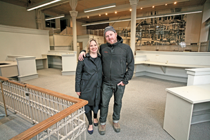 Katherine Anderson of Marigold and Mint and Chef Matt Dillon of Sitka and Spruce are opening The London Plane in the old Bank of America branch on Occidental Avenue South.