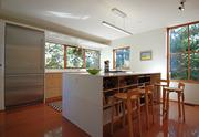 The kitchen of a Queen Anne Hill home designed and owned by David Coleman was recently updated.