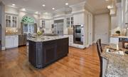 No. 5. The kitchen of a 7,000-square-foot lakefront Medina house that was sold for  $7.25 million.