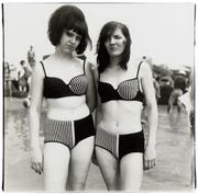 """Two Girls in Matching Bathing Suits, Coney Island,"" Diane Arbus, 1967, printed 1978, posthumouslyCentre Georges Pompidou"