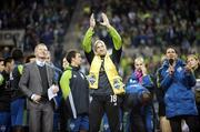 Seattle Sounders goalkeeper Kasey Keller says farewell to his fans Saturday.