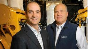 John Sabey, left, and Dave Sabey of Sabey Corp.