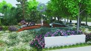 Seattle Children's William Boeing Park and Garden Walk  will feature benches, outdoor art and native plants.