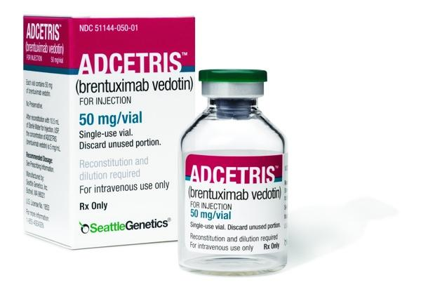 Seattle Genetics' Adcetris cancer drug has been approved for marketing in Europe.