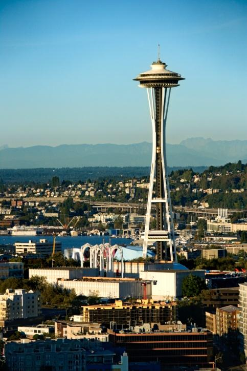 Operators of Seattle's Space Needle are running ads about the proposed rezone of South Lake Union, saying some changes could block city views of the landmark.