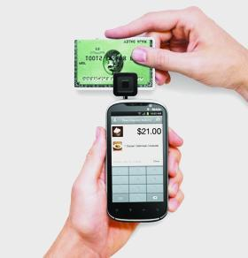 T mobile offers square credit card reader for small businesses the square credit card reader allows small businesses to take credit card payments using their mobile colourmoves