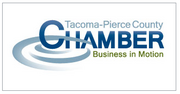 4. Tacoma-Pierce County Chamber of Commerce has 1,268 members.   The Puget Sound Business Journal ranks the largest chambers of commerce that represent a specific geographic location in Washington state by membership. The full list of the top 25 chambers of commerce, compiled by Researcher Bonnie Graves, is available in the Oct. 5 print edition.