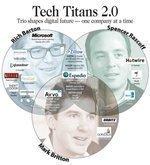 Trio shapes digital future — one company at a time