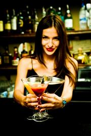 4. Bartender  Median hourly tips: $8.30  Percentage of total hourly income from tips: 52%