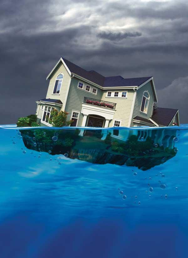 Fewer homes in Jacksonville were underwater in the fourth quarter.
