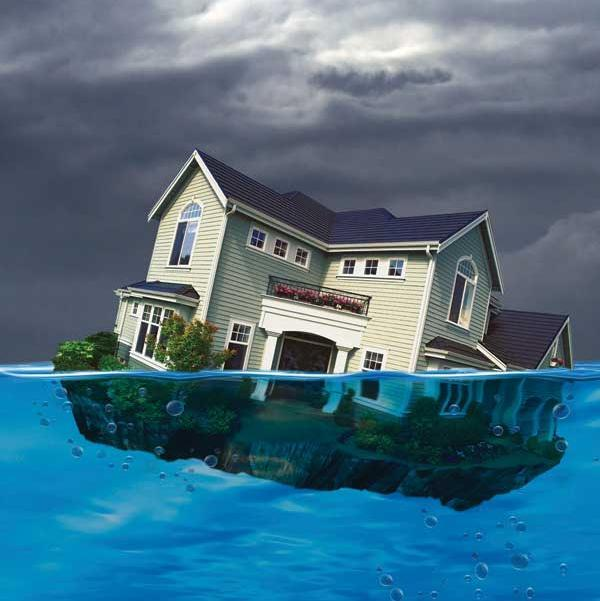 """CoreLogic reports the number of """"underwater"""" mortgage in the Charlotte area continues to decline."""