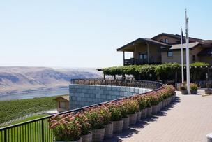 Maryhill Winery grounds, Goldendale, Wash.