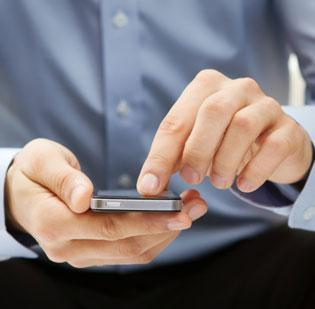 More people are turning to apps to send text messages through the Internet.