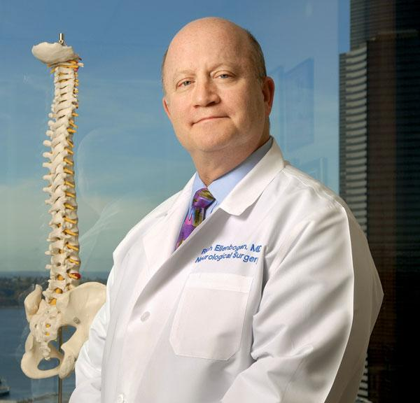 Seattle's Dr. Richard Ellenbogen co-chairs the NFL's Head, Neck and Spine Committee.