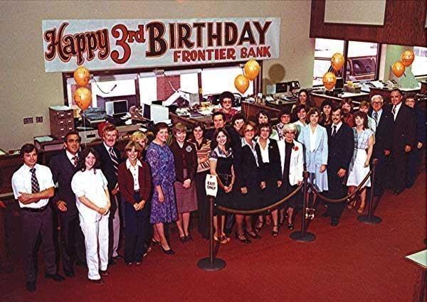 Frontier Bank in 1981