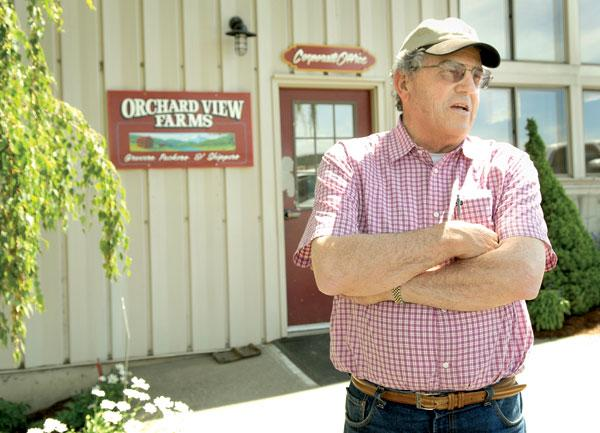 """Psychologically, it was tough — for a lot of people,"" cherry farmer Bob Bailey, co-founder of Columbia River Bank, said of the bank's closure."