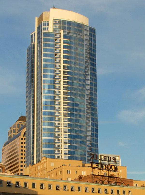 U.S. Bank gets proceeds from future condo sales at 1521 Second Ave. in Seattle.