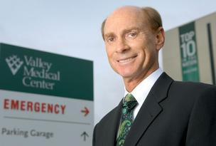 Rich Roodman, CEO of Valley Medical Center in Renton