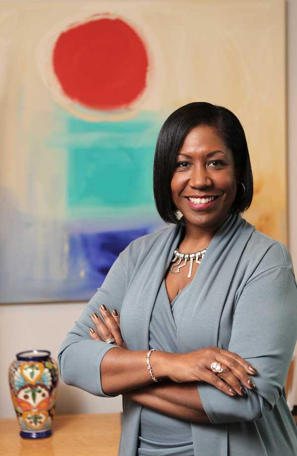 Adriane Brown, president of Intellectual Ventures, learned she could handle discomfort at an integrated high school in Virginia.