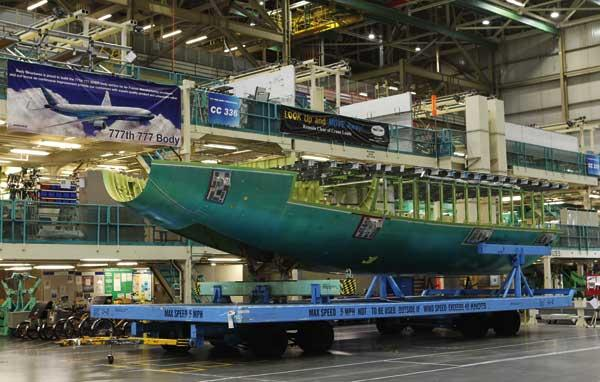 Boeing has threatened to move 777X production work out of the state if union leaders don't agree to an 8-year contract.