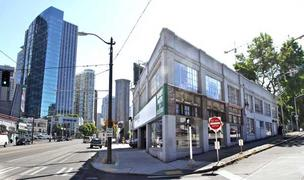 Kurt Beecher Dammeier recently purchased this 1925 auto-row building. Located on  the corner of Westlake Avenue and Blanchard Street, it will be the future home of a Maximus/Minimus restaurant and poised to benefit from the metamorphasis of Seattle's Denn