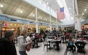 SuperMall's food court will shift to a different location within the mall to improve the flow of foot traffic.