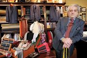 Sales of tailored, high-end suits slowed after the presidential election, says Gian DeCaro of Gian DeCaro Sartoria in Seattle's Belltown neighborhood.