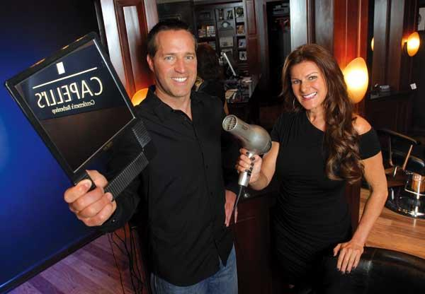 Bob Heyer and Simone Loban are co-owners of Capelli's Gentlemen's Barbershop, which will soon have three Seattle locations.