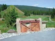 The new Rope Rider golf course at the Suncadia Resort incorporates many mining-related artifacts into its layout.