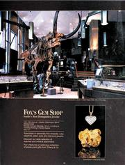 A Fox's Gem Shop ad from the mid-1980s shows the mastodon skeleton that once was displayed on the showroom floor. The mastodon is now on permanent loan to the Burke Museum of Natural History and Culture at the University of Washington.