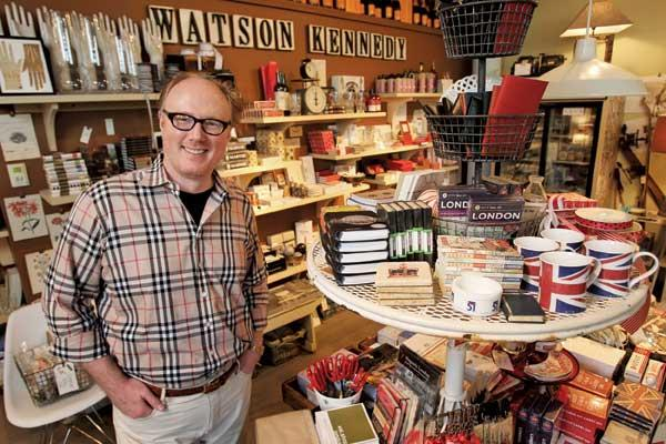 "Ted Kennedy Watson makes sure his sales floor engages the five senses of every person who walks in the door. ""I want to create this really gracious environment,"" he said."