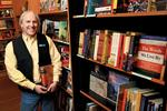 Eagle Harbor Book Co. owner <strong>Morley</strong> <strong>Horder</strong> says social media  can help indie booksellers survive