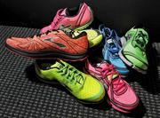 New neon colored Brooks Sports PureProject collection shoes will be coming out in July.