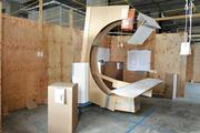 Virginia Mason Medical Center in Seattle uses modular mock-ups made from plywood and cardboard to work out physical design and work flows in everything from patient rooms to scanner rooms. The smallest details, from where the electrical outlets are on the wall, to where a large imaging scanner is placed, are worked out in full scale in the mock-up.