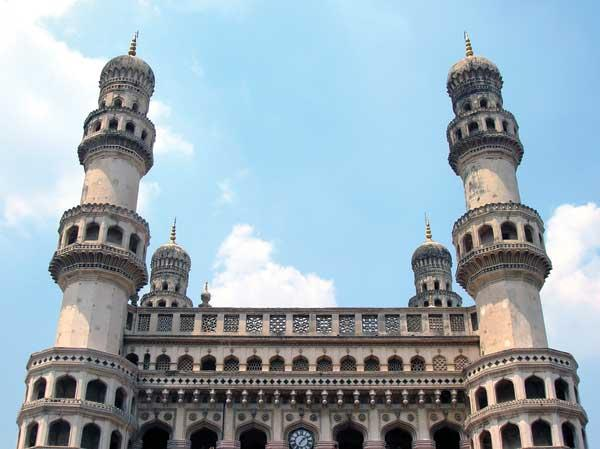Charminar monument, built in 1591, is a landmark in Hyderabad, capital of Washington's soon-to-be sister state. In addition to historic sights, Hyderabad is known as a technology center.