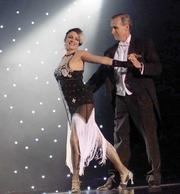Dr. Richard Baxter, a Seattle surgeon, and professional dancer Michelle Badion won for their tango.