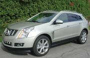 The 2013 Cadillac SRX has a sticker price of $53,520.