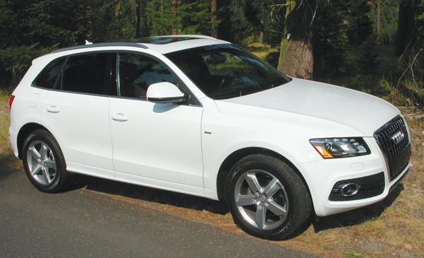 The Audi Q5 3.2 quattro Tiptronic has a list price of $46,875, as pictured.