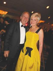 Chap (left) and Eve Alvord were among the hundreds of people who turned out for Swedish Medical Center's annual gala, Celebrate Swedish, which raised nearly $4 million.