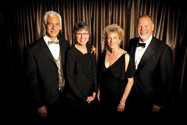 Virginia Mason Medical Center raised about $1.2 million with its Dreambuilders' Ball, co-chaired by (from left) Dr. Bob Caplan, Debbie Caplan, Carolyn Corvi and John Bates.