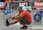 Xplore CrossFit owner Jordan Holland competes in the Pacific Northwest Regionals for Reebok's national CrossFit Games. He finished fifth in the regionals.